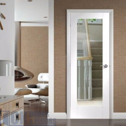 White Shaker Kitchen Cabinets With Glass Doors
