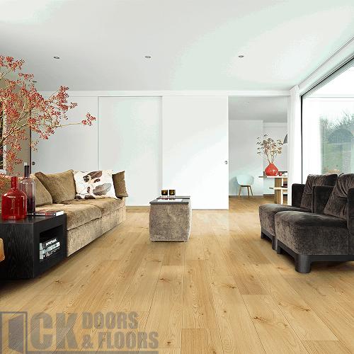 Balterio Tradition Quattro Amber Oak, Traditional Living Golden Amber Oak Laminate Flooring