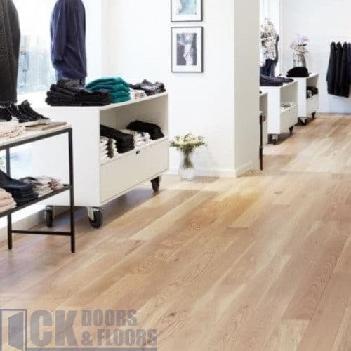 Junckers Nordic Oak 205mm Classic Solid Hardwood Flooring Ck