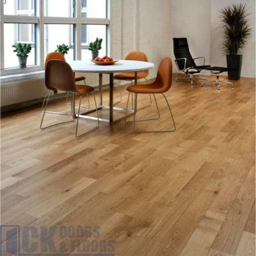 Junckers Oak 205mm Harmony Solid Hardwood Flooring Ck Doors And